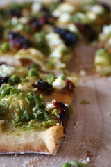 Pea Pesto Pizza 2