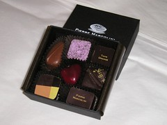 Assorted Pierre Marcolini chocolates