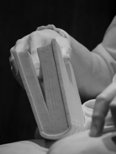 Madison's Copy Of Volume 3 Of Jean Nicolas Démeunier's Économie Politique Et Diplomatique, As Depicted By Sculptor Walter Kirtland Hancock In The Library Of Congress James Madison Memorial Hall (Washington, DC)