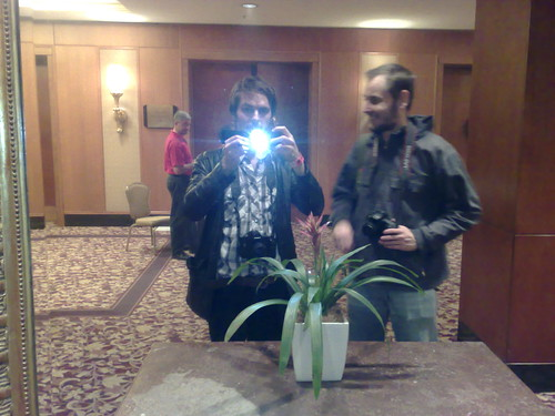 Me and Matt Booy at the Four Seasons hotel