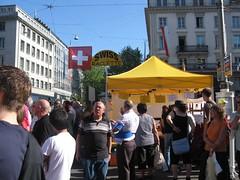 Sechseläuten Böögg Bilder Fotos Sächsilüüte Bellevue Zürich 2007 April