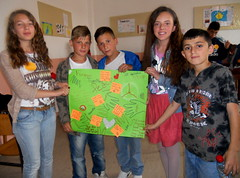 Kids Presenting Peace Paper 2