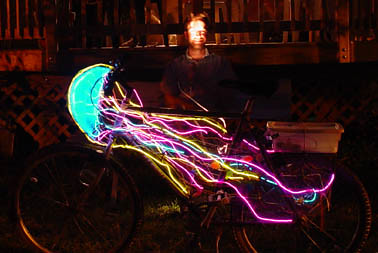 How to Fur Your Burning Man Bike, How To Turn Your Bike Into a PlayaFly & other ArtBikes & ArtRides to go on!