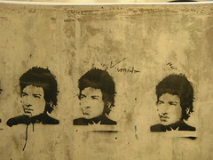 Bob Dylan in Lincoln Square