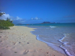 Lanikai Beach - Saturday morning around 8am