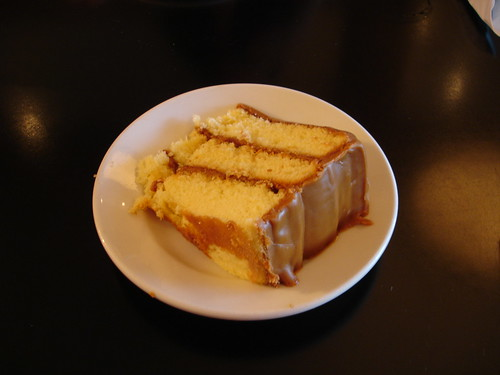 Caramel Cake, Primo's Cafe in Flowood (Jackson) MS
