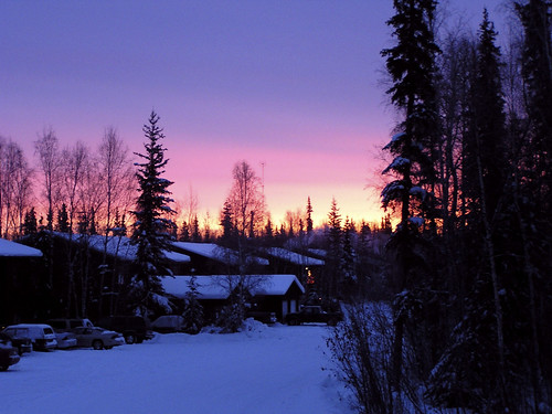 12.30 in the afternoon, North Pole, Alaska, Dec 2004