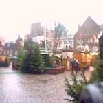 Beim Weihnachtsmarkt