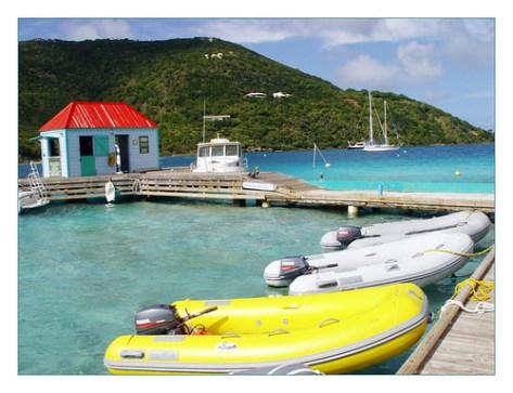 Marina Cay Dock
