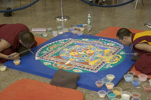 Drepung Gomang Monastery in Nashua, NH by stargazr