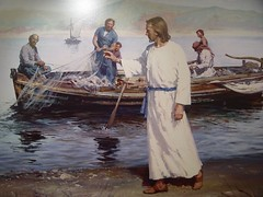 Painting of Christ by midiman