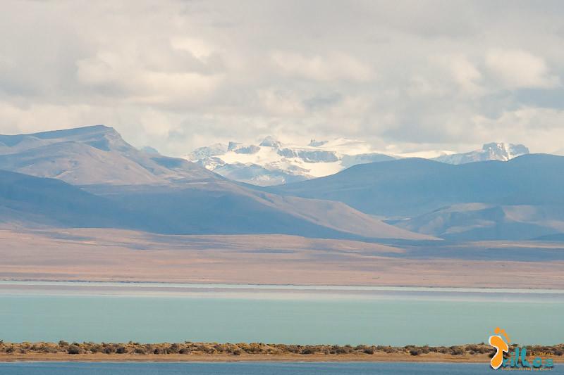 As cores quase irreais do Lago Viedma, com os Andes como pano de fundo (Patagónia)