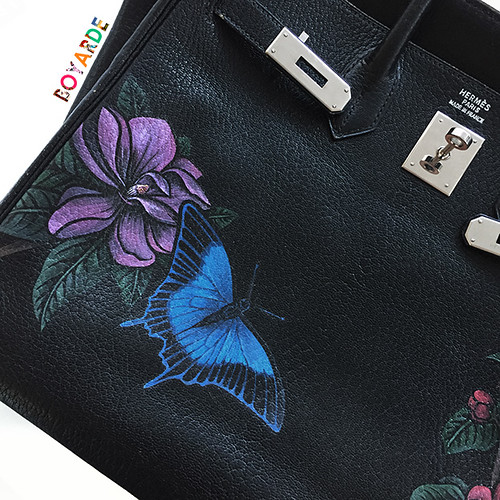 Hermes Birkin Botanical 1 copy