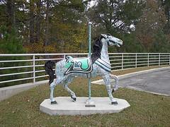 Carousel Horse, Meridian MS