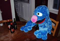 Grover Home from Work