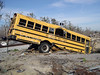 Crashed School Bus by laffy4k