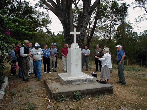 Site where Northamerican churchwomen were dumped in El Salvador