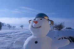 "der Schneemann • <a style=""font-size:0.8em;"" href=""http://www.flickr.com/photos/42554185@N00/19050328611/"" target=""_blank"">View on Flickr</a>"