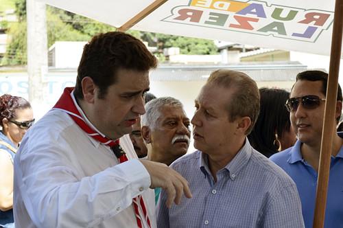 Marcos Vinícius Bizarro e José Maria Facundes - Aniversário de Coronel Fabriciano - Praça da Bíblia - 21-01-2017 - Foto Emmanuel Franco (16)