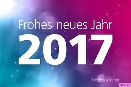 Neujahr 2017 · Happy New Year