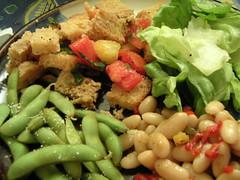 Salad dinner, again