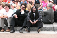Cornel West and Rev. Sekou