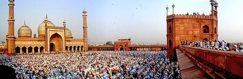 Jama Masjid in W I D E A N G L E