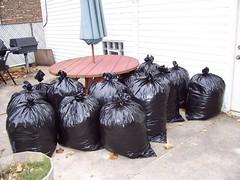 12.75 bags of leaves