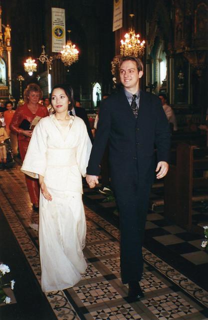 Jeroen and I, November 25, 2000