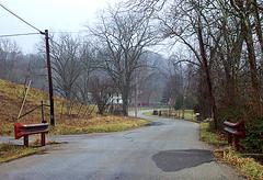 Raining on Boswell Run Road