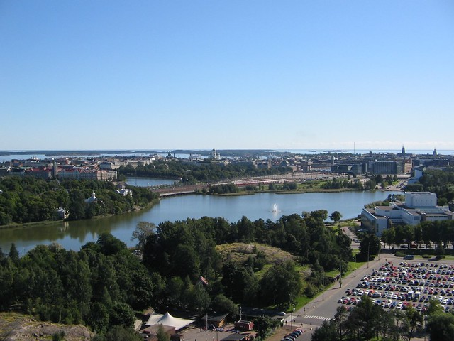 Helsinki Panorama by Flickr user Huzhead