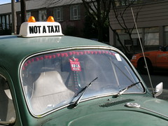 NOT A TAXI !