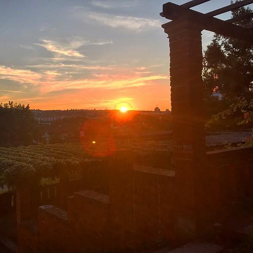 #Sonnenuntergang  @ #VillaBerg #Park #0711 #Stuttgart #sunset