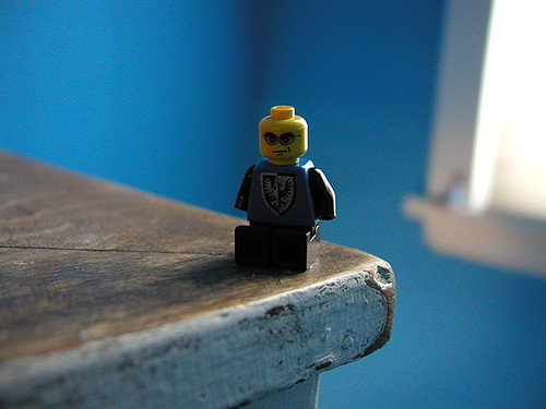 grouchy little lego man by massdistraction