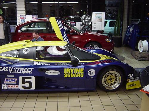 subaru race car saker