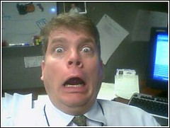 kevin has just seen the new TPS report . .