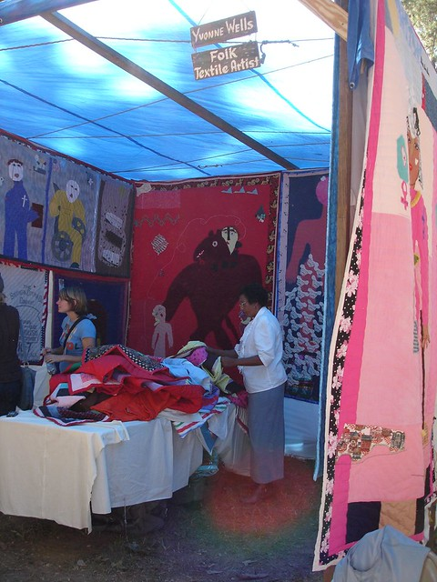 Yvonne Wells' Quilts, Kentuck Festival of the Arts, Northport AL