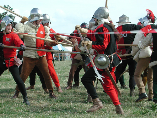 Bosworth Skirmish : Tancread on Flickr (CLick image)