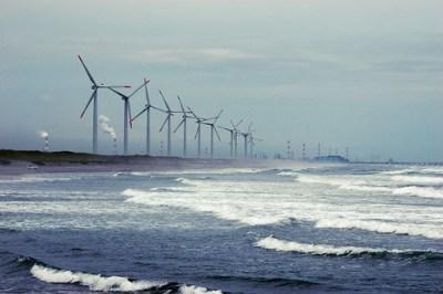Hasaki wind plant - Photo : shinkusano