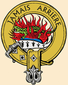 The crest of Clan Douglas