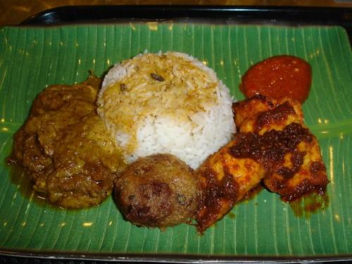 Nasi Padang di Changi