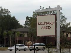 Mustard Seed Sign