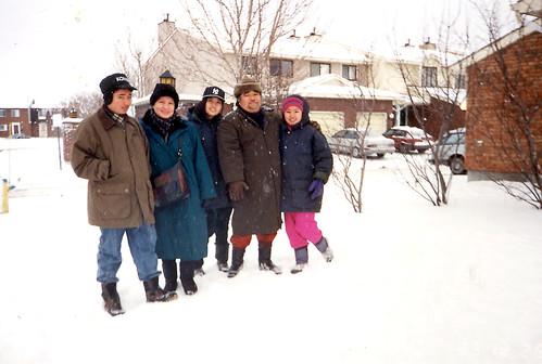I miss snow.