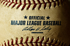 Official Major League Baseball - Close-up Shot