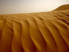 Sand dunes, Tunisia