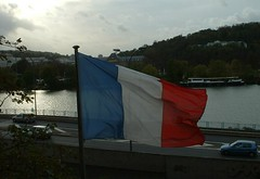French Flag and the Seine