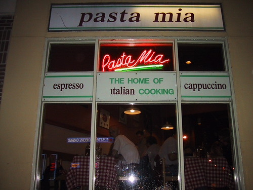 2001-05-22 - Washington, DC - Pasta Mia by bewarenerd.