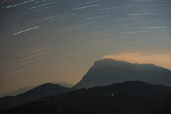 "Startrails Under The Moonlit Sky • <a style=""font-size:0.8em;"" href=""http://www.flickr.com/photos/40693716@N03/18743554890/"" target=""_blank"">View on Flickr</a>"
