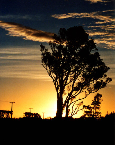 Taranaki sunset