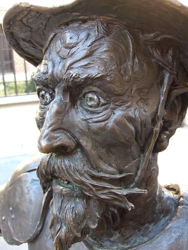 Don Quixote head